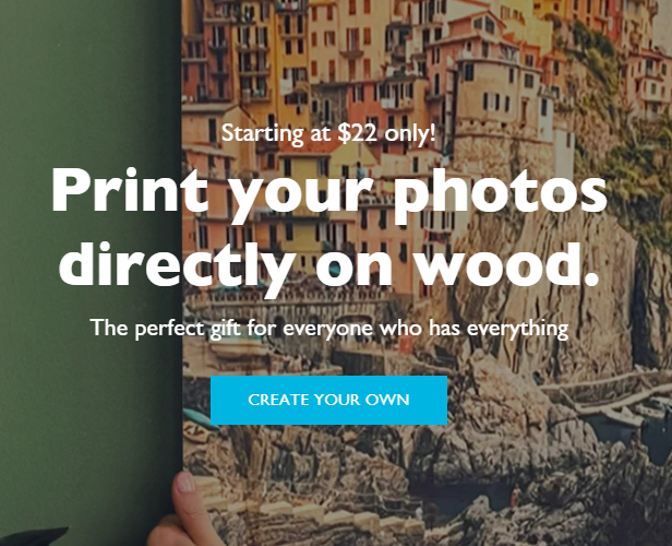 Artofyourmind.com Decorates Homes and Offices with Personalized Wood Prints and Wood Wall Art
