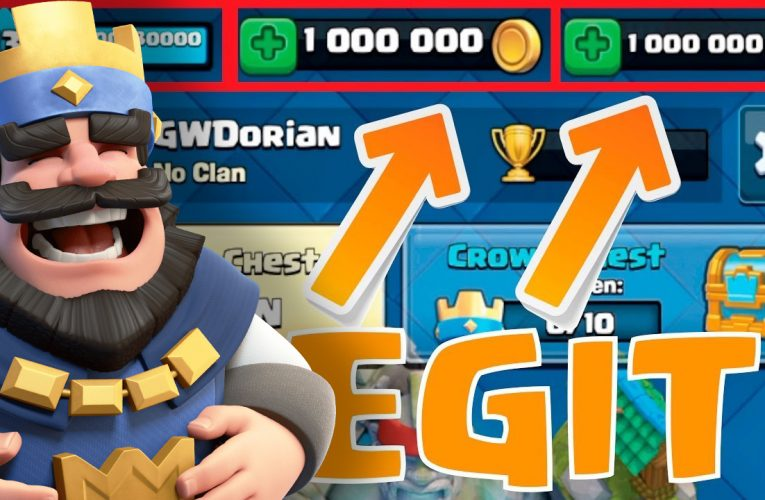 Obtain Clash Royale Unlimited Gold and Gems.